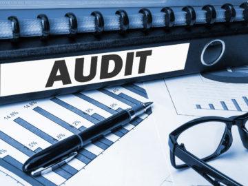 document folder with label audit